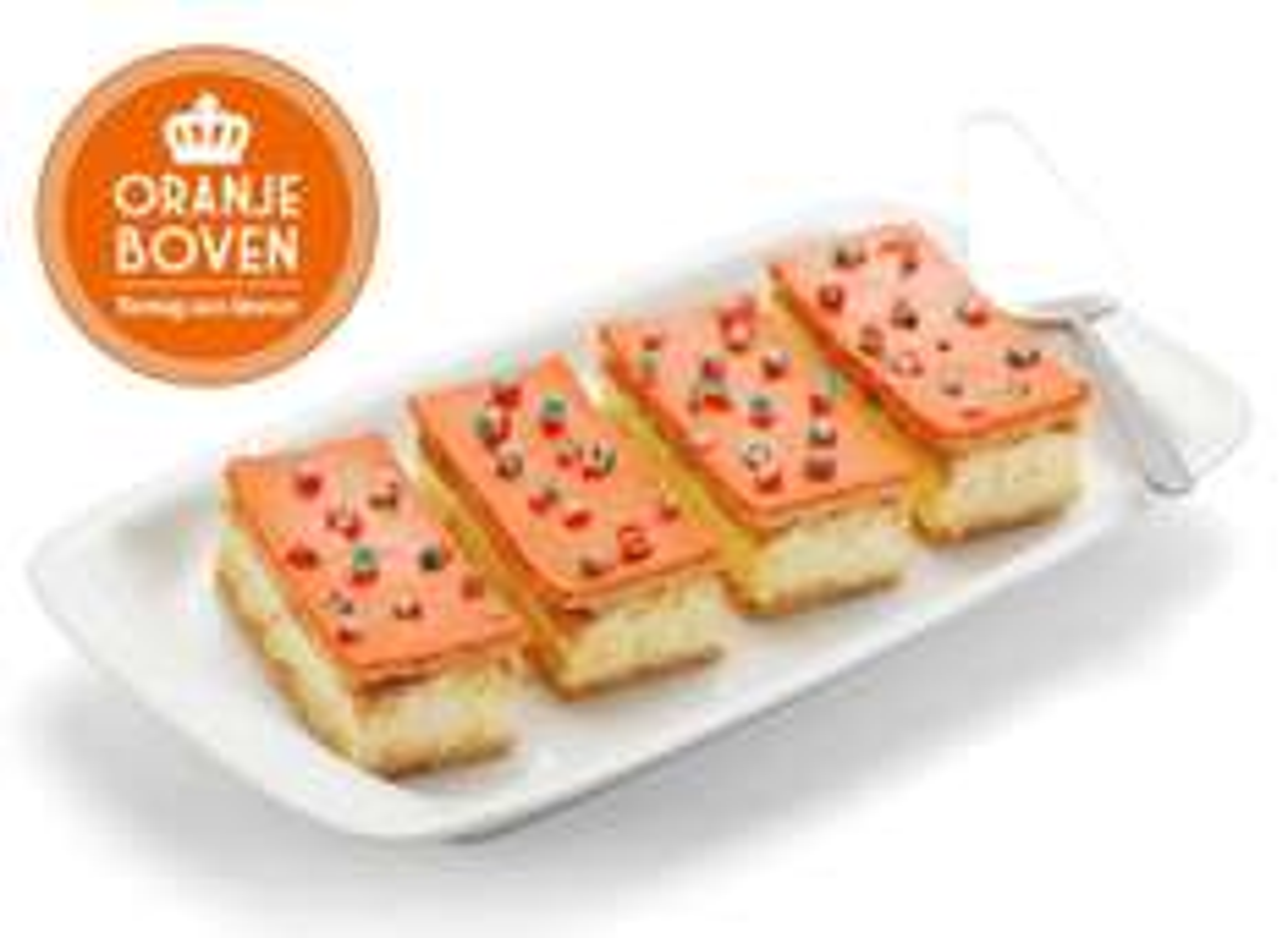 4 Oranje Tompoucen voor €0,99 @Lidl