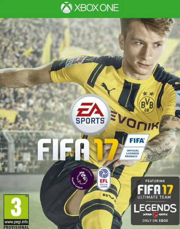 FIFA 17 Xbox one voor €24,50 (+ €3,10 verzendkosten) @ Simplygames (UK)