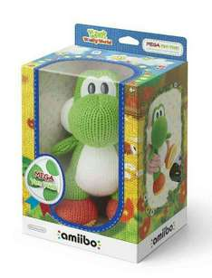 Nintendo mega Yoshi Amiibo Woolly World Yarn voor €24,95 @ Intertoys