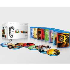 The Clint Eastwood Boxset (8 films) Blu-ray voor €14,55 @ Zavvi