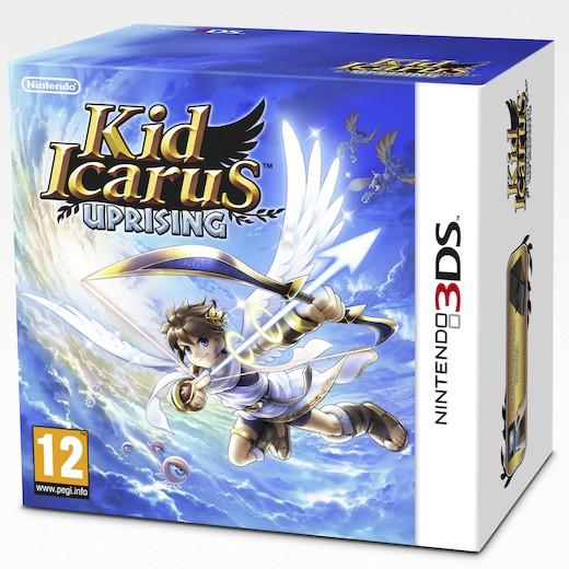 Kid Icarus: Uprising + Stand (3DS) voor € 29,75 @ Zavvi