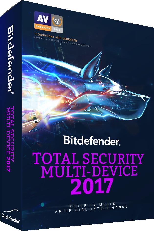 3 maanden gratis Bitdefender 2017 Total Security @ Bitdefender