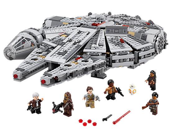 Lego Star Wars 75105 Millennium flacon + gratis R2-D2 30611 voor €95,99 @ Lego Store