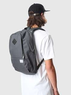 Herschel Supply  Nelson Dark Shadow Black Rubber van 89,95 voor 53,97 bij Freshcotton