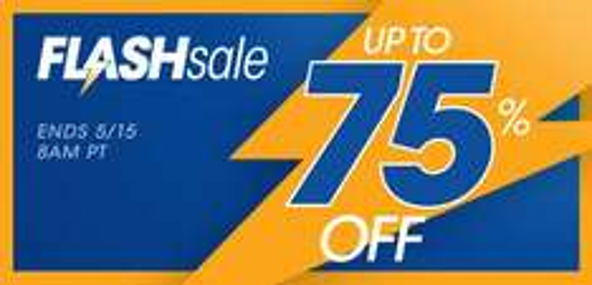 Flash sale tot 75% korting @ US PSN