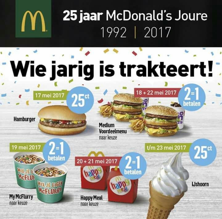 Mcdonalds coupons nederland