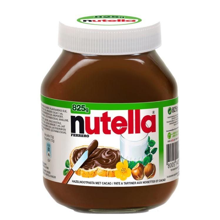 Nutella 2x825 gram voor €5.99-