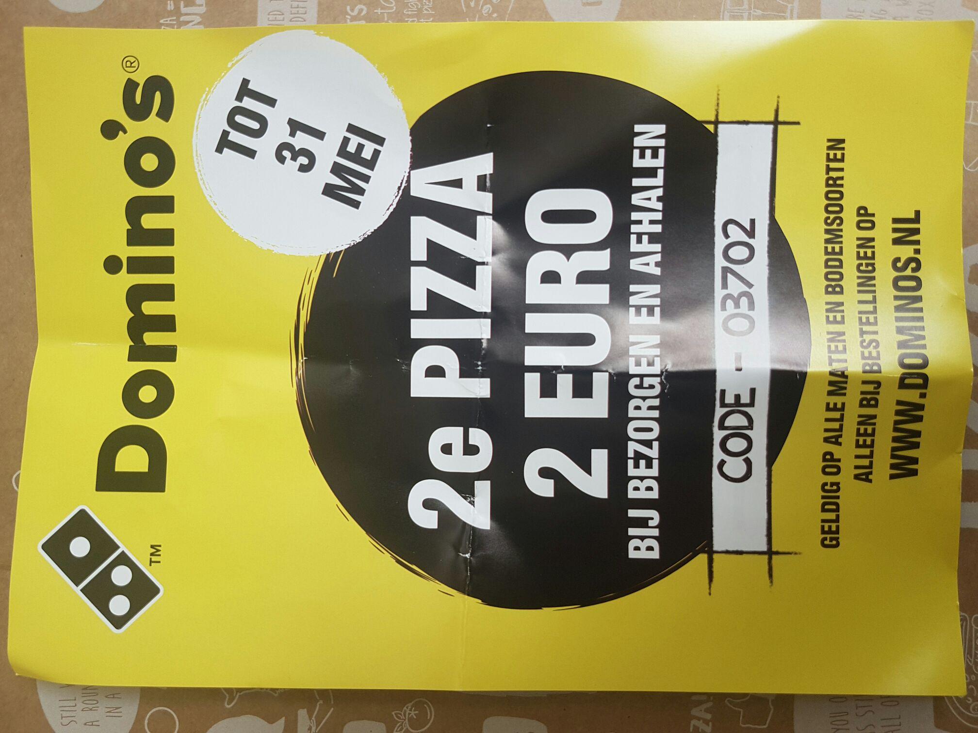 2e Pizza 2 Euro