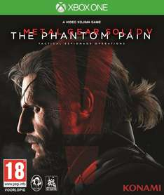 Metal Gear Solid V: The Phantom Pain Xbox One voor €9,99 @ Microsoft