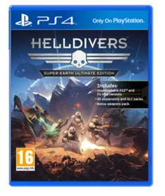 Helldivers: Super Earth (Ultimate Edition) PS4 @ Game.co.uk