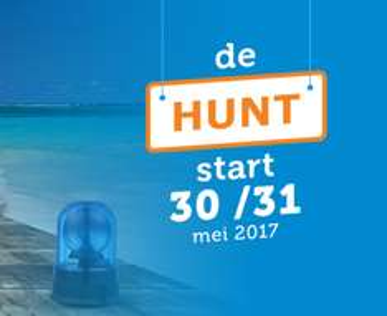 De Hunt op dinsdag 30 en woesdag 31 mei @ iBOOD