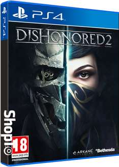 Dishonored 2 (PS4) voor €15,51 @ ShopTo