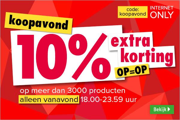 Koopavond: 10% extra korting op meer dan 3000 producten @ Kijkshop