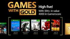 Games with Gold juni @ Xbox Store