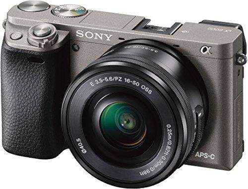 Sony Alpha A6000 + 16-50mm f/3.5-5.6 Zwart @ Amazon.de