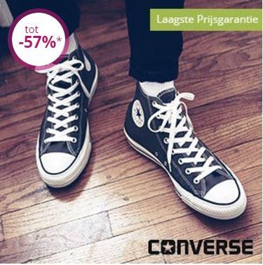 [UPDATE] Converse 50-57% korting + evt €10 extra + gratis verzending @ Limango