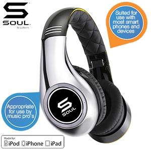 Soul by Ludacris Audio SL300 on ear headphones voor € 85,90 @ iBOOD
