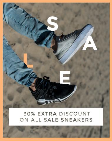 30% extra korting op de sale @ Sneakerbaas