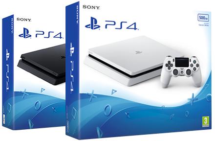 Playstation 4 Slim 500GB (zwart of wit) voor €198 @ Nedgame