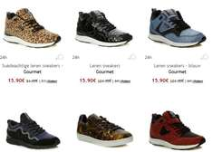 Gourmet sneakers 77-84% korting + €10 extra (va €50) @ Outlet Avenue