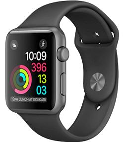 Apple Watch Series 2 (Sportbandje, 42mm) Grijs voor €433 @ KPN