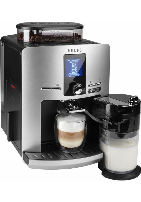 Krups volautomatisch koffiezetapparaat Latt'Espress Quattro Force EA82FE voor €489 @ Otto