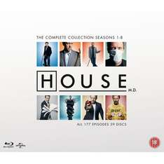 Zavvi.nl - House M.D. - The Complete Collection Blu-ray