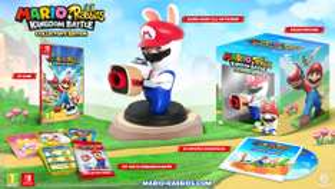 Mario + Rabbids Kingdom Battle - Collector Edition van €94,99 voor €75,99