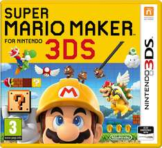 Super Mario Maker (3DS) voor €26,95 @ Coolshop