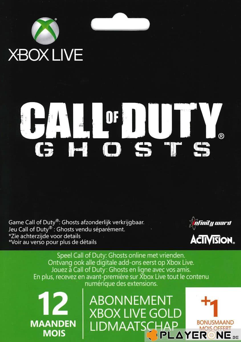Xbox Live Gold 12 maanden + 1 extra voor €24,98 @ Intertoys (winkels)