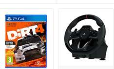 Hori APEX Racing Wheel (PC/PS3/PS4) + Dirt 4 (PS4) voor €98,52 @ Amazon.fr