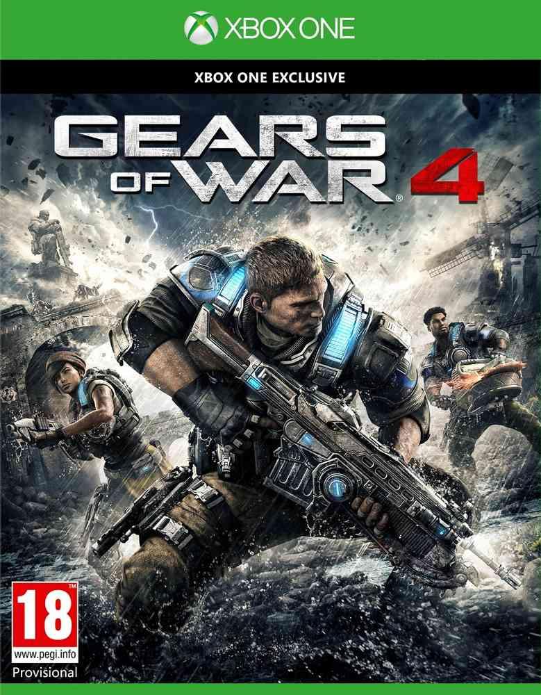 Gears of War 4 (Xbox One Disc) voor €14 @ MS Italië