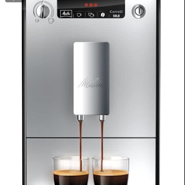 Melitta Caffeo Solo - Volautomaat Espressomachine - Zilver @ Bol.com