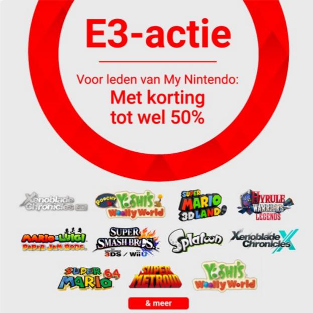 E3 2017: NINTENDO ESHOP SALE @ Nintendo.nl