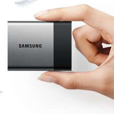 Samsung Portable SSD T3 1TB Zilver @ Amazon.de