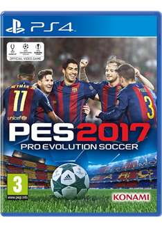 Pro Evolution Soccer 2017 (PS4) @ Base.com