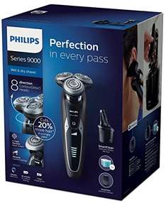 Philips Shaver series 9000 Wet&Dry + 3 cleaning cartridges @ Amazon.it