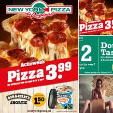 Actieweek | PIZZA | B&J's @ New York Pizza