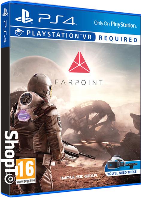 Farpoint psvr PS4 voor €27,50 @ Shopto