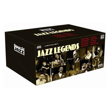 Jazz Legends (100CD) voor €29,99 @ Blokker