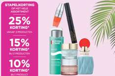 Stapelkorting 10-25% korting op totale assortiment + €5 extra @ ICI Paris XL