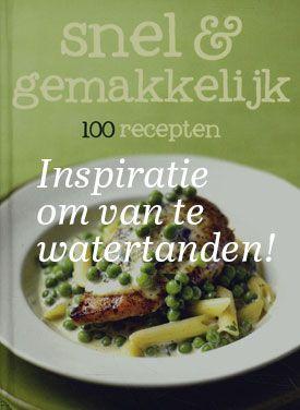 Gratis receptenboek aanvragen