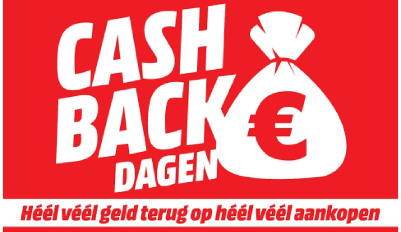 Volgende week Cashbackdagen @ Mediamarkt