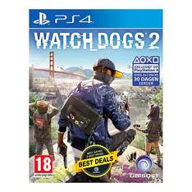 Watch Dogs 2 Standard Edition (PS4 / Xbox One) voor €25 @ Wehkamp