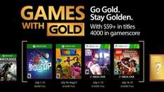 Games with Gold juli @ Xbox Store