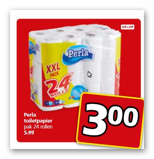 Jan Linders: 3 laags 24 rollen toiletpapier