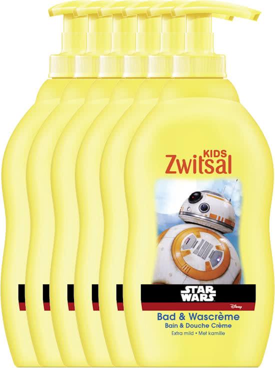 Zwitsal Star Wars Bad & Douche - 6 x 400 ml @ Bol.com