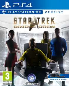 Star Trek: Bridge Crew PSVR voor €29 @ YGZ
