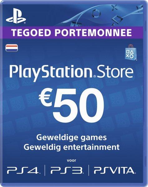 12 maanden PS Plus voor €42,49,  €50 PS Store tegoed voor €42,50 @ Intertoys