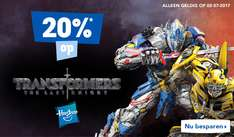 Happy Sunday! 20% korting op Transformers  @ Toysrus